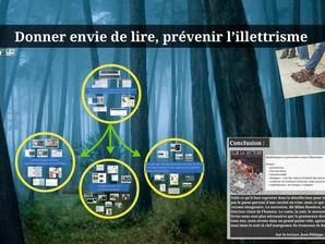 """Conférence """"Donner envie de lire et prévenir l'illettrisme"""""""