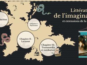 """Présentation sur """"les littératures de l'imaginaire & extensions de la fiction"""" à Istanbul"""