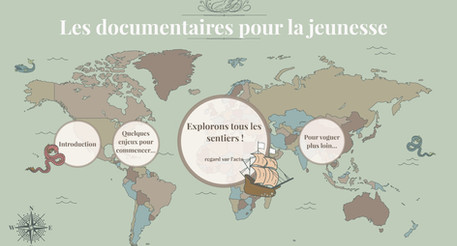 Animation pour la BDP de l'Essonne : Regard sur la production des documentaires jeunesse