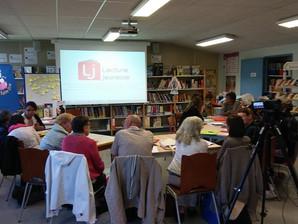 """Présentation """"Lire à des préados"""" à Riom pour Lire&Faire Lire/Lecture Jeunesse"""