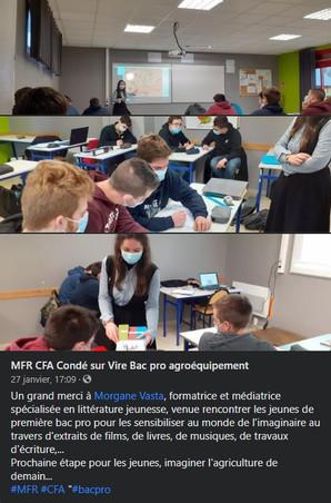 [Animation/MFR Normandie] L'imaginaire et la BD en milieu agricole !
