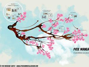 Présentation BD/Manga à la médiathèque des Mureaux