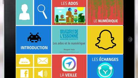 """Intervention stimulante sur """"Les adolescents et le numérique en bibliothèque"""" à la Bdp de l'Essonne."""