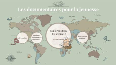 Ce matin présentation critique de l'actualité des documentaires pour la jeunesse, à la BDP 91 !