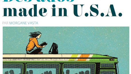 "Publication : article ""Des ados made in U.S.A."""