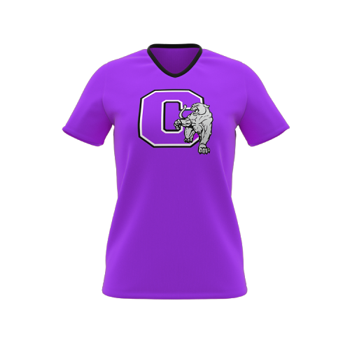 Soccer - Ladies Set Sleeve V-Neck T-Shir