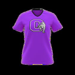 Soccer - Ladies Set Sleeve V-Neck T-Shir
