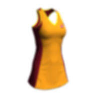 Netball Elite A-Line Dress Front.png