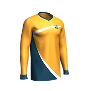 Cricket Long Sleeve Jersey - Mens Front.