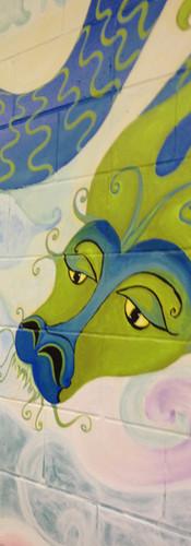 Murale participative bibliothèque de Brownsburg-Chatham
