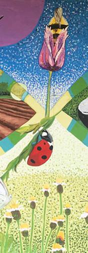 Murale participative Jardin communautaire MRC Argenteuil