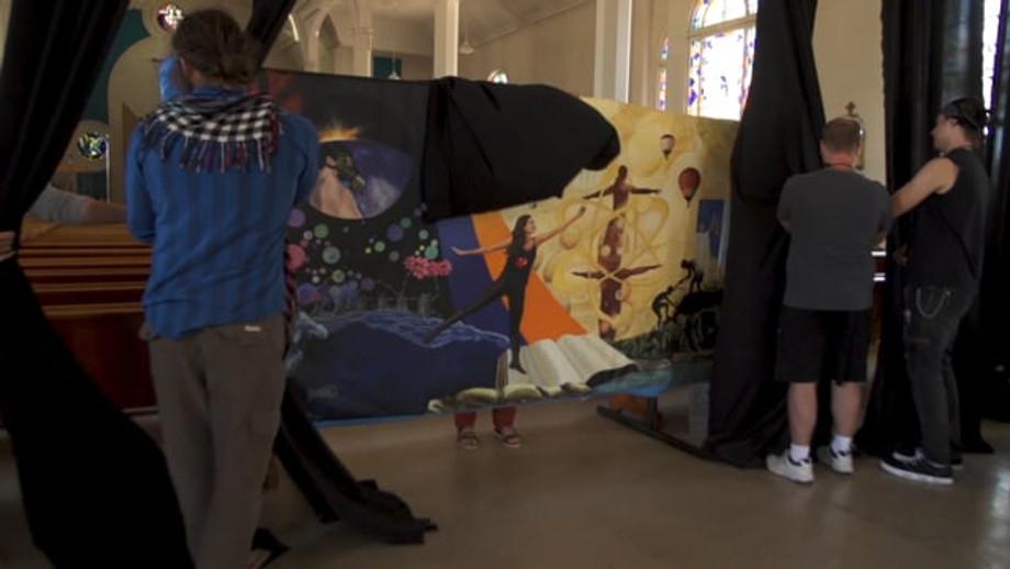 Vidéo - Murale participative CJEA