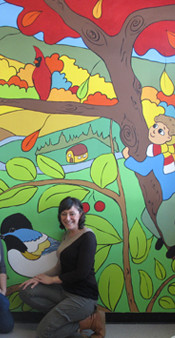 Murale participative École aux quatre vents, Saint-Hyacinthe