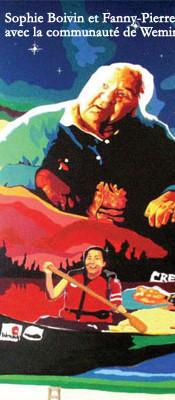 Murale participative Wemindji, Baie-James