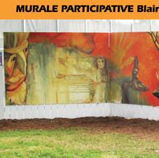 Murale participative ville de Blainville