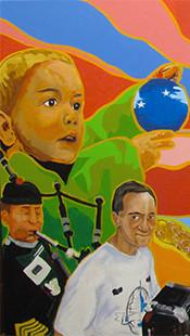 Murale participative pour la Branche Culturelle de Brownsburg-Chatham