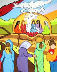 Murale participative CALAS de L'Outaouais