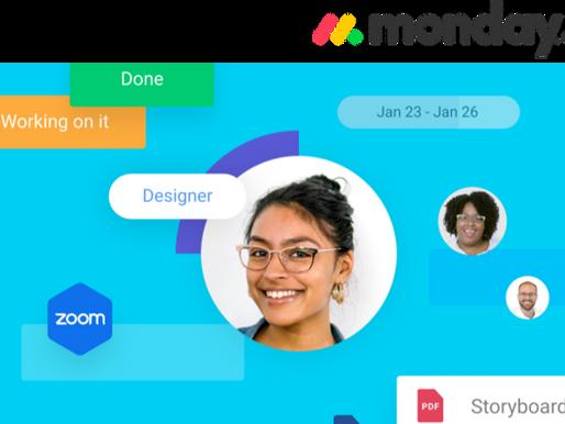 Trabaja de manera remota con MONDAY.COM