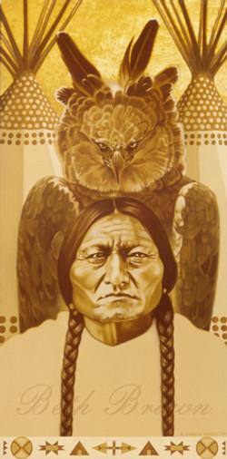 """Sitting Bull"" by Beth Brown"