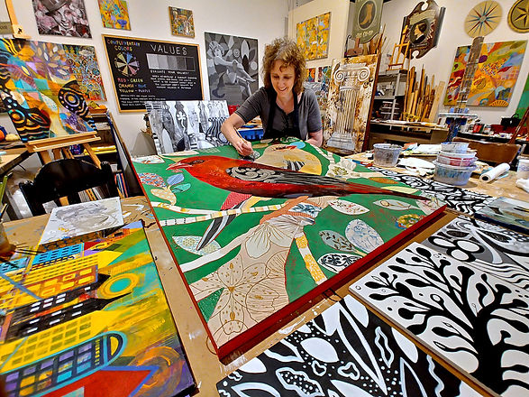 Beth Brown in her studio.jpg