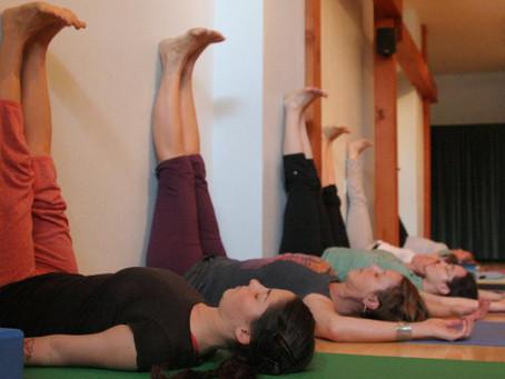 January Pose of the Month - Viparita Karani (Legs-Up-The-Wall)