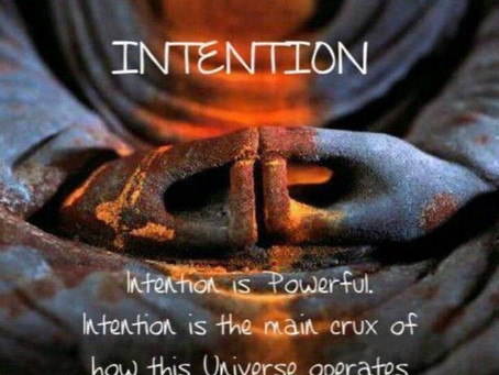 Live an intentional life