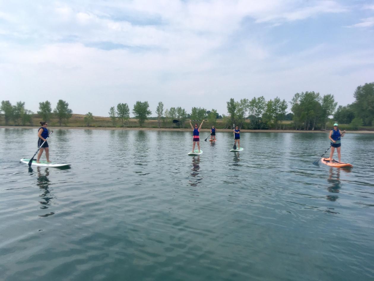 SUP at Standley Lake
