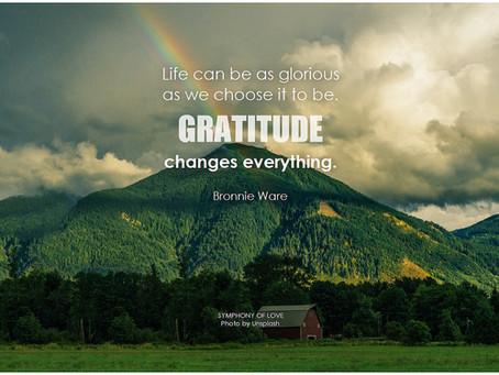 Three Good Things Gratitude Practice