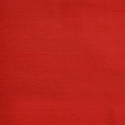 Silke Dupion Klar Rød