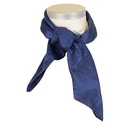 Silkesjal - Tuva Mørk Blå