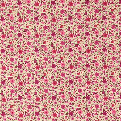 Bomull - Rosa/rød