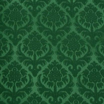 Brokade - Granateple 1 Grønn