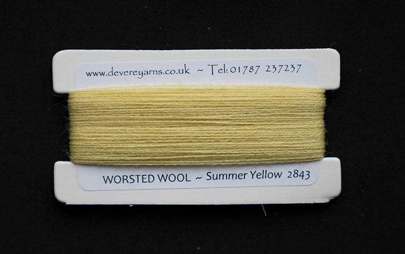 Broderigarn - Ull - Summer Yellow