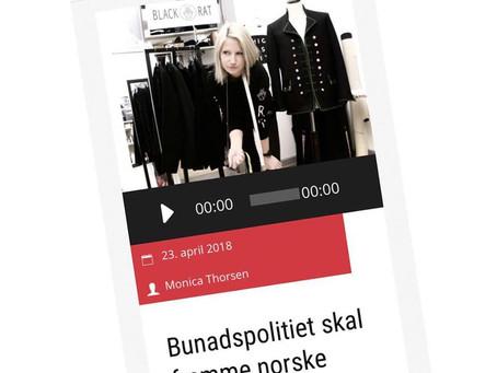 Radio 102 - Bunadspolitiet skal fremme norske bunadsprodusenter