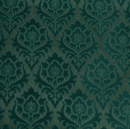 Brokade - Granateple 2 Grønn