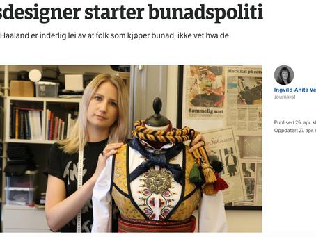 NRK - Klesdesigner starter Bunadspoliti