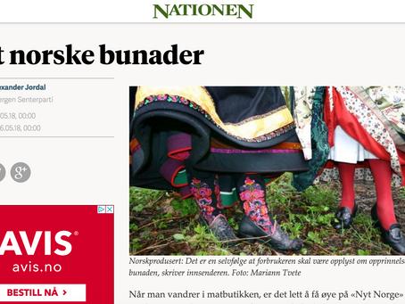 Nationen - Nyt norske bunader