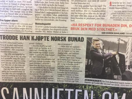 Dagbladet - Sannheten om bunaden din