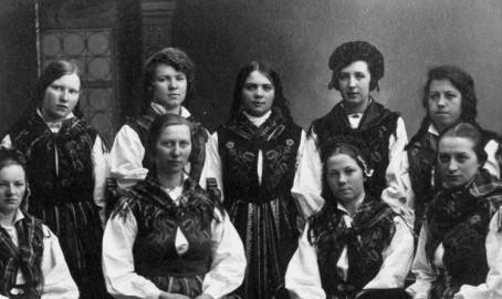 Den originale Nordlandsbunaden