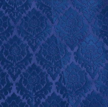 Damask - Granateple 2 Blå
