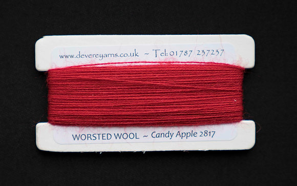 Broderigarn - Ull - Candy Apple