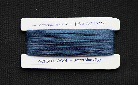 Broderigarn - Ull - Ocean Blue
