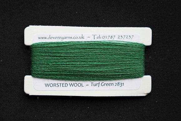 Broderigarn - Ull - Turf Green