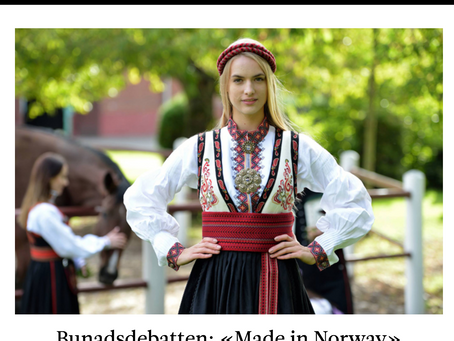 "Melk & Honning - Bunadsdebatten ""Made In Norway"""