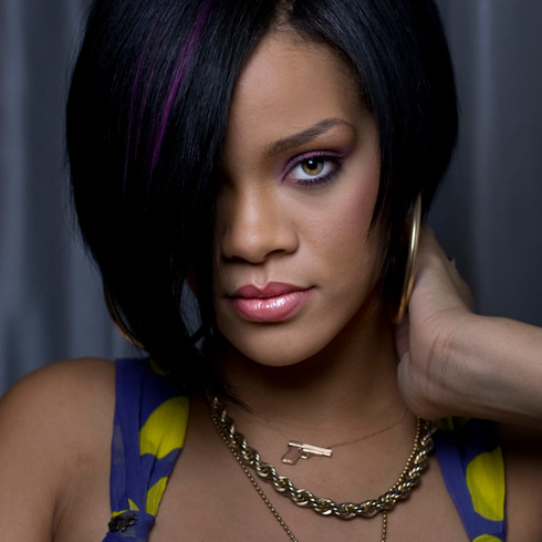 Rihanna, artist.