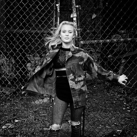 Zara Larsson, artist.
