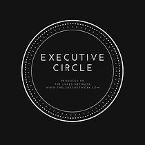 Black and Gold Circle Real Estate Logo (