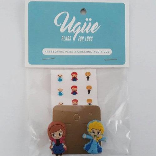 Plug para aparelho auditivo - Frozen (Elsa e Anna)