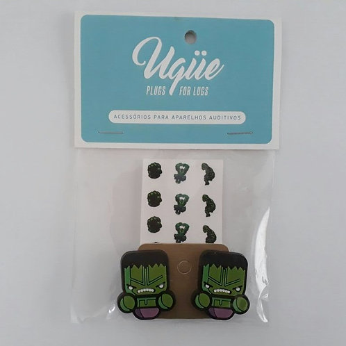 Plug para aparelho auditivo - Hulk