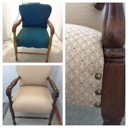 Restauration fauteuils
